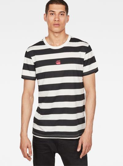 Prison Stripes Print T-Shirt