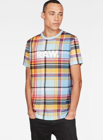 Madras Check Print T-Shirt
