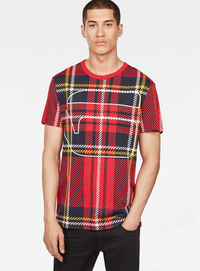 Royal Tartan Print T-Shirt