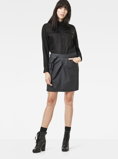 Rovic Pocket Wrap Dress