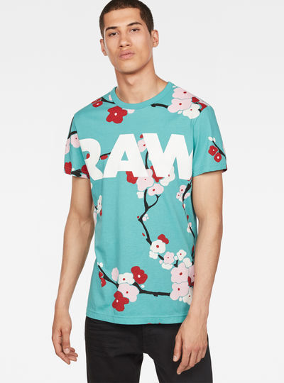 Sakura X25 Print T-Shirt