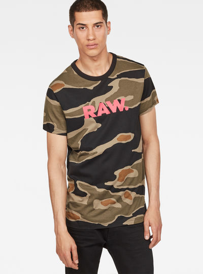 Pharrell Williams - Tigerstripe Camouflage X25 Print T-Shirt