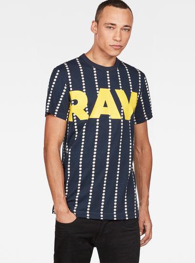 Wabash Stripe X25 Print T-Shirt