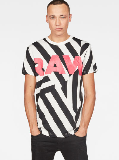Pharrell Williams - Dazzle Camouflage X25 Print T-Shirt