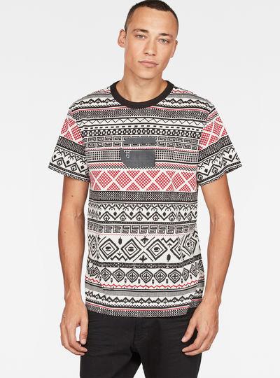 Pharrell Williams x Mayan Glyphs X25 Print T-Shirt
