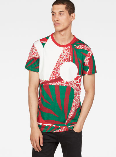 African X25 Print T-Shirt