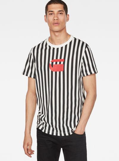Hickory Stripe X25 Print T-Shirt