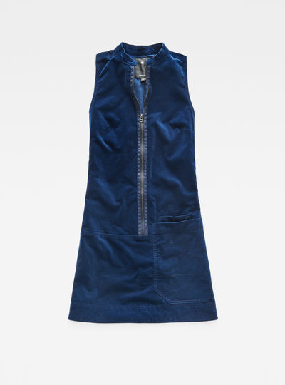 Blake Zip Sleeveless Dress