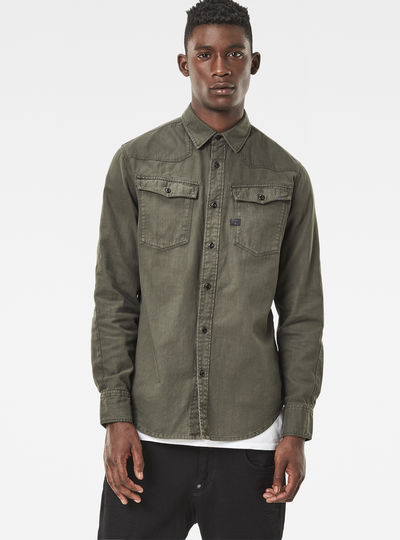 G-star raw 3301 Shirt in Black for Men | Lyst