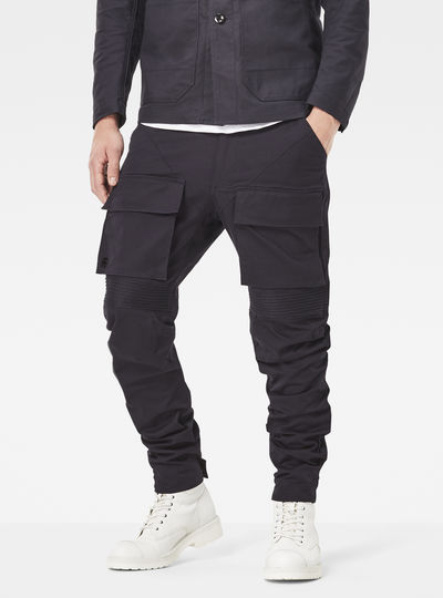 Vodan Deconstructed Slim Pants