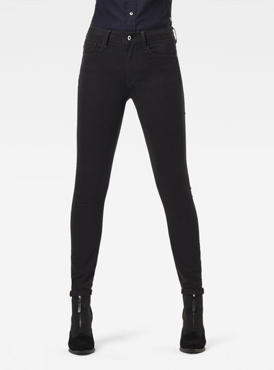 3301 Deconstructed High-Waist Skinny Jeans