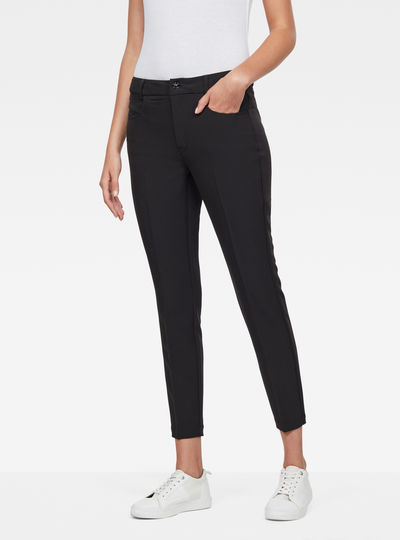 D-Staq Mid-Waist Skinny Ankle Chino