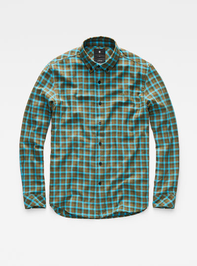 Core Button-Down Straight Shirt