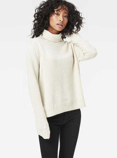 Leya Turtle Knit