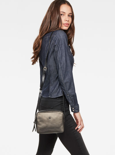 Mozoe Small Leather Shoulderbag