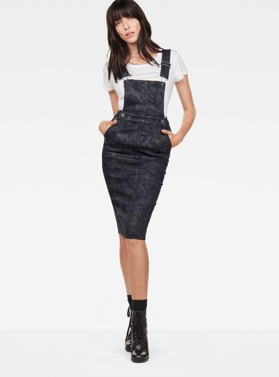 5622 Slim Overall Dress