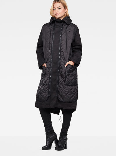 Rovic XL Hooded Transeasonal Liner Parka