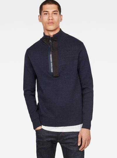 Empral Half Zip Knit
