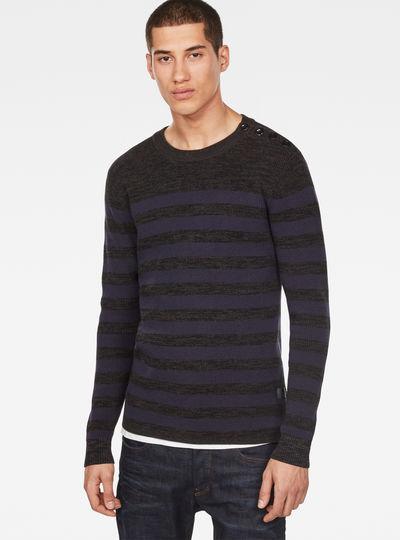 Dadin Stripe Knit