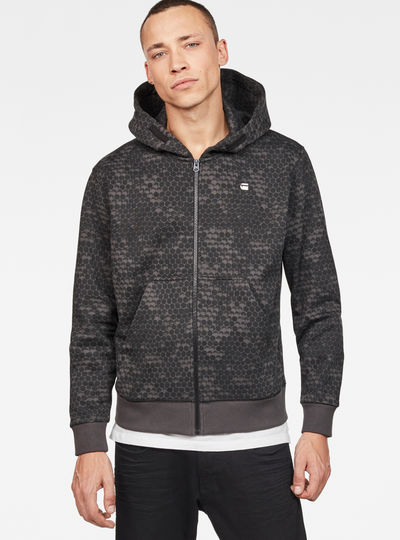 Core Hoc Hooded Zip Sweater