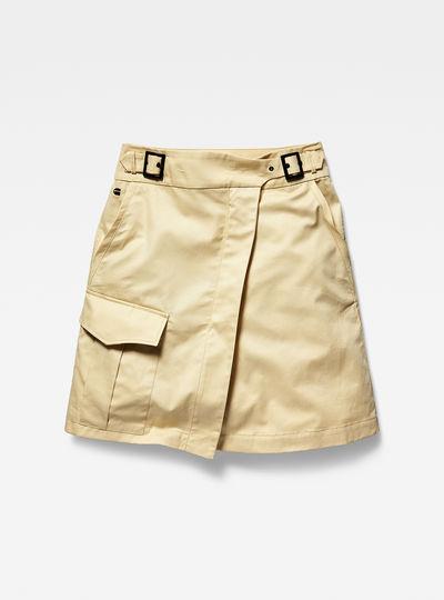 Bristum army wrap skirt wmn