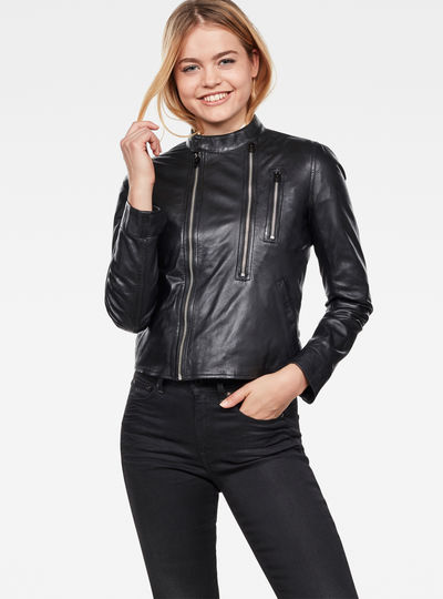 Hybrid Archive Slim Biker Jacket