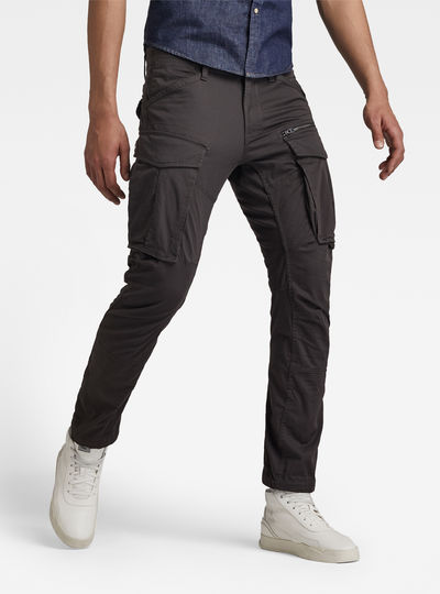 Rovic Zip 3D Tapered Cargo Pants