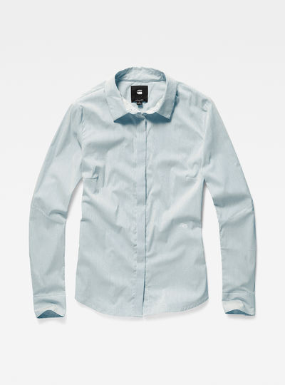 Deline slim tailored shirt wmn  l/s
