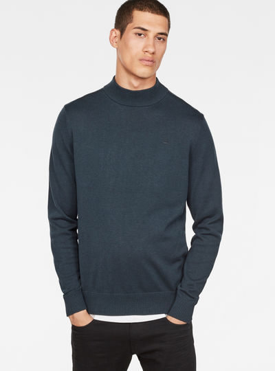RC Core Mock Turtle Knit