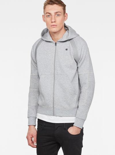 Rackam Hooded Zip Sweater