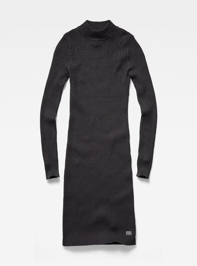Lynn Turtle Knit Dress