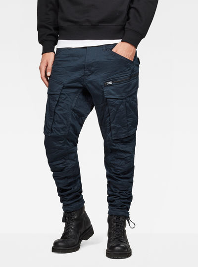 Rovic Zip 3D Tapered Pants