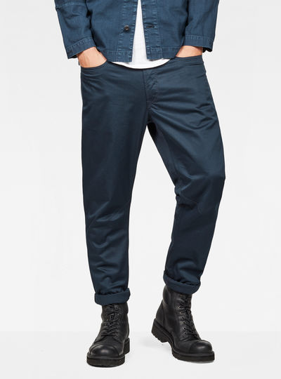 D-Staq Deconstructed Tapered Cuffed Chino