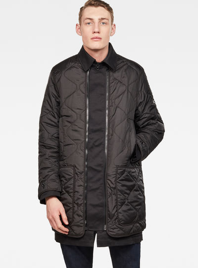 Deline Quilted Transeasonal Trench