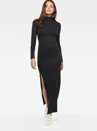 Staria Slim Long Turtle Dress