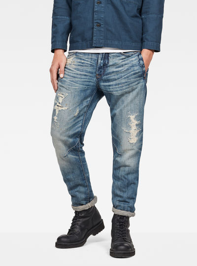 Raw Essentials D-Staq 3D Tapered Jeans