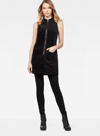 Blake Zip Sleeveless Dress
