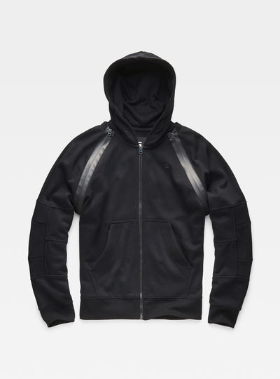 Rackam Hooded Zip Sweater