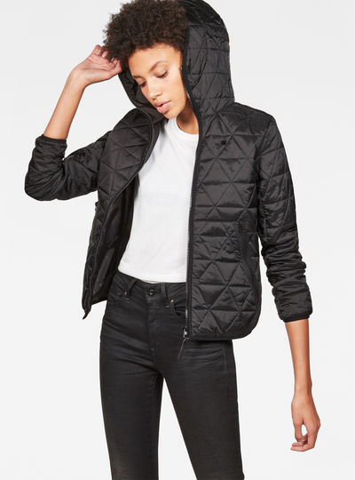 Strett Utility Hooded Padded Bomber
