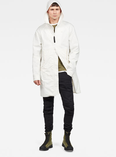 Strett Hooded Parka Overshirt
