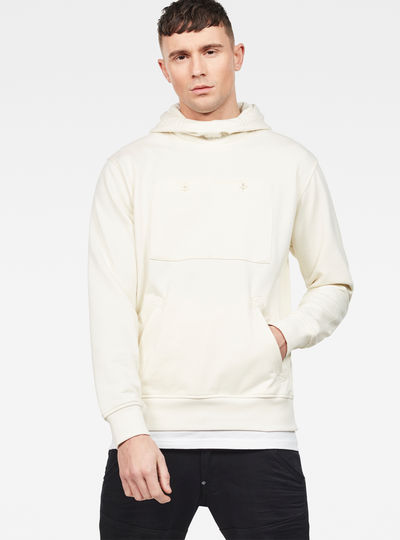 Core Hybrid Archive Hooded Sweater