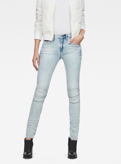 5622 Mid waist Skinny Jeans