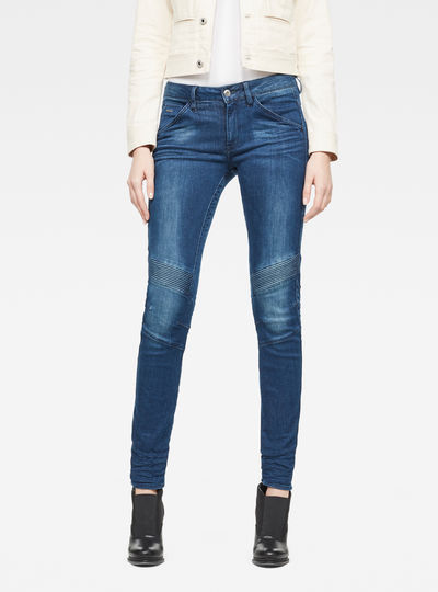 5622 D-Motion 3D Mid Skinny Jeans