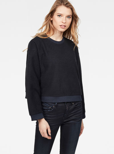 Suzu Relaxed Cropped Sweater