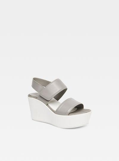 Core Strap Flatform Sandal