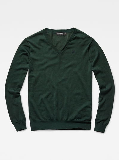 Core v knit l/s