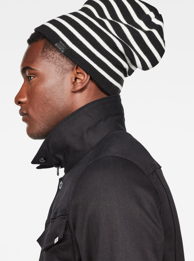 Effo Long Beanie Stripe