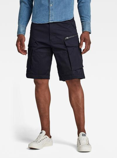 Rovic Zip Loose 1/2-Length Shorts