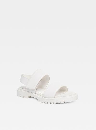 Core Strap Flat Sandal