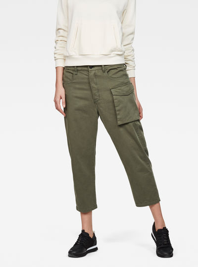 Tendric 3D Mid Boyfriend Pants